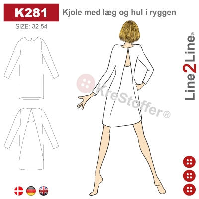 K Dresses Line2Line sewing pattern schnittmuster