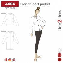 French dart jacket