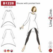 Blouse with tips