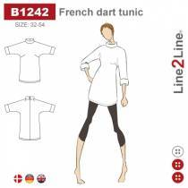 French dart tunic