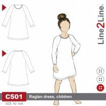 Basic T-shirt dress - kids