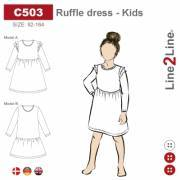 Ruffle dress, Kids